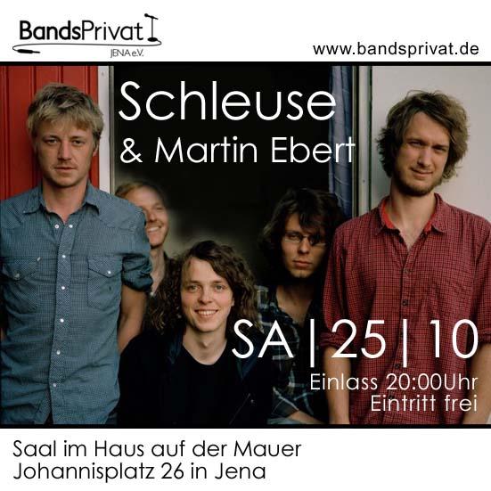 BP mit Schleuse & Martin Ebert